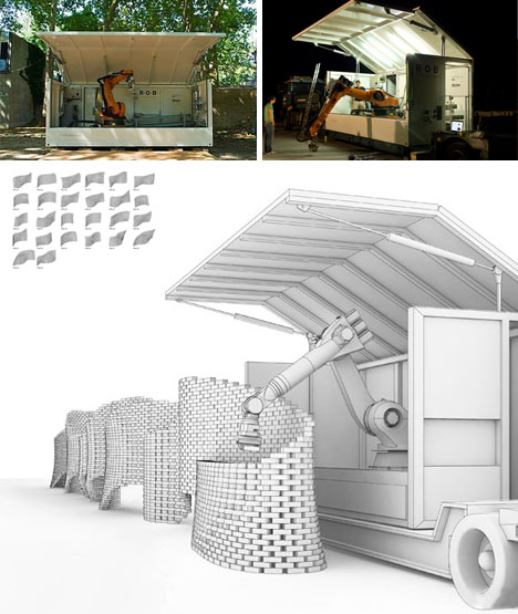 Brick Wall Design Manual : Can you curve a brick wall the design critic