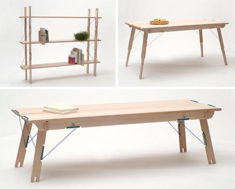 Modular Wood Furniture Just Like Lego The Design Critic
